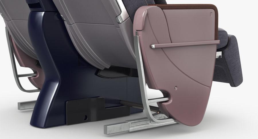 비행기 의자 royalty-free 3d model - Preview no. 27