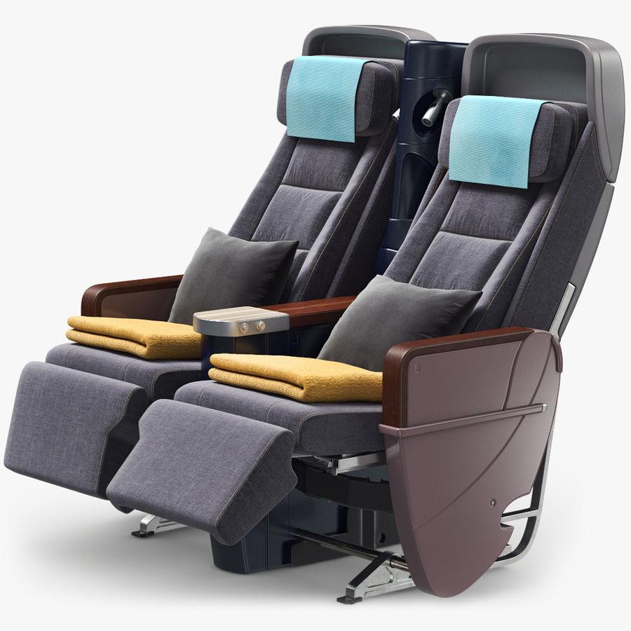 비행기 의자 royalty-free 3d model - Preview no. 1