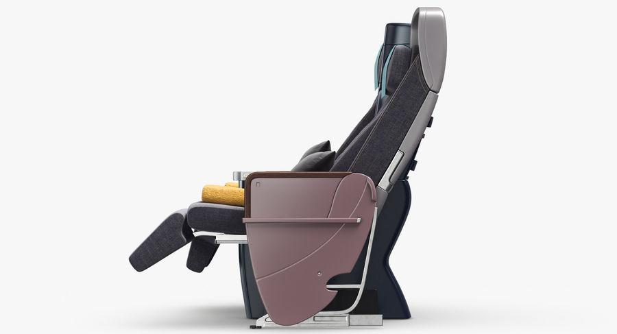 비행기 의자 royalty-free 3d model - Preview no. 18