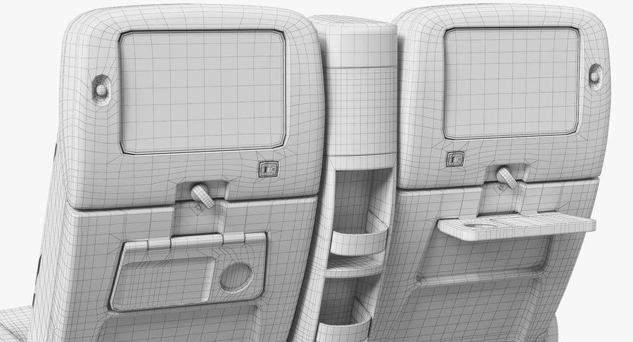 비행기 의자 royalty-free 3d model - Preview no. 46