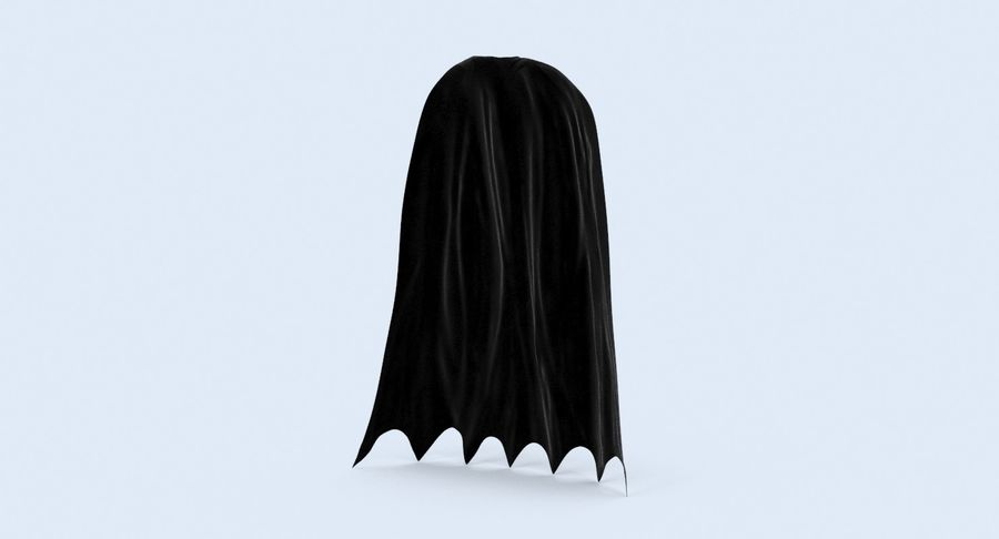 Superhjälte Capes Collection royalty-free 3d model - Preview no. 8