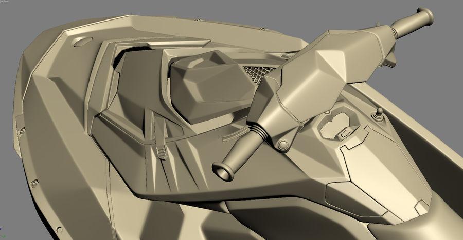 SEA-DOO Spark royalty-free 3d model - Preview no. 23