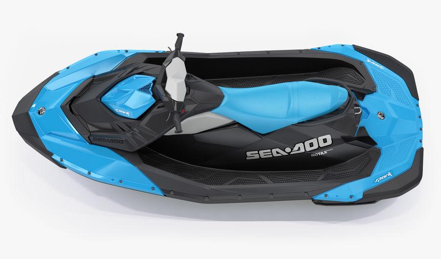 SEA-DOO Spark royalty-free 3d model - Preview no. 5