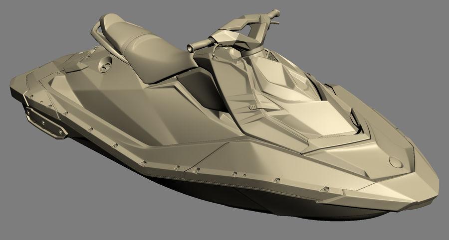 SEA-DOO Spark royalty-free 3d model - Preview no. 15