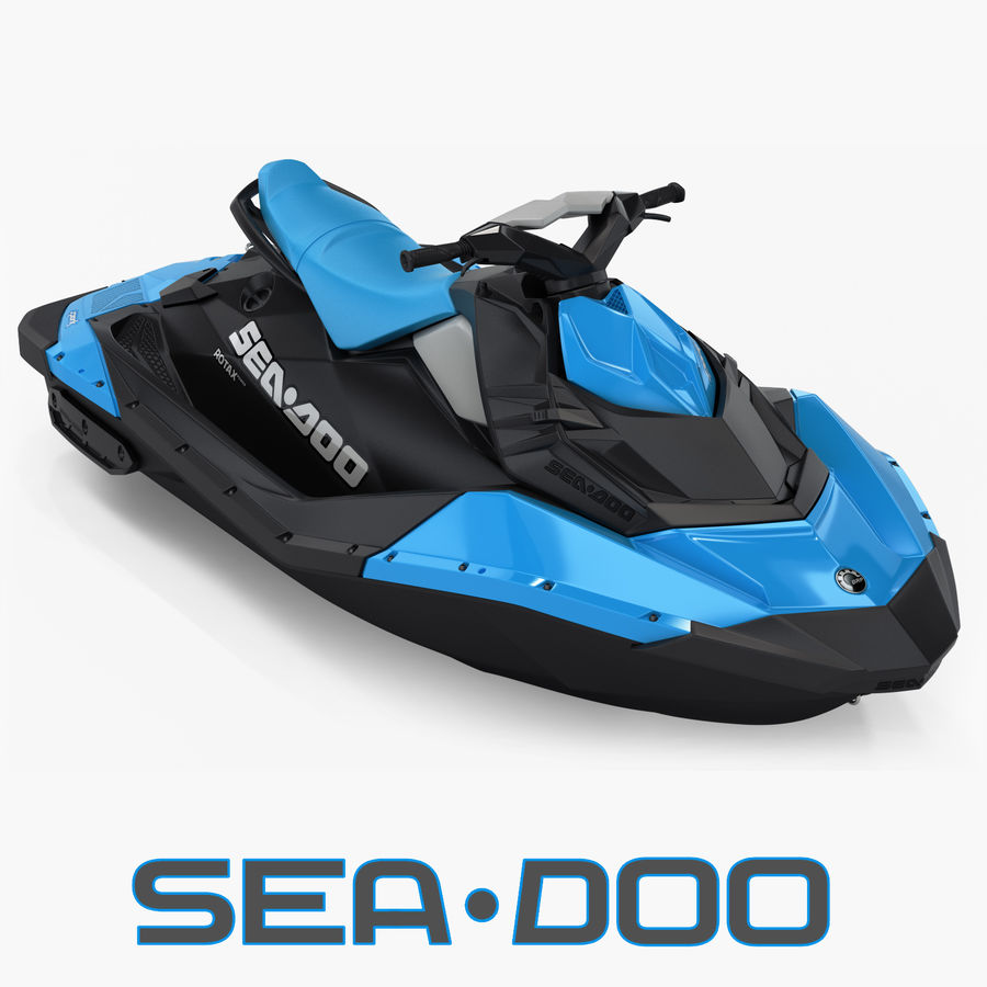 SEA-DOO Spark royalty-free 3d model - Preview no. 1