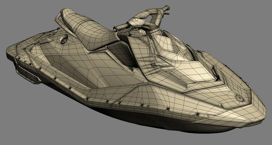 SEA-DOO Spark royalty-free 3d model - Preview no. 16