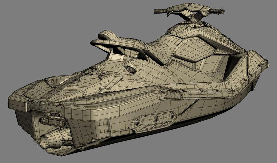 SEA-DOO Spark royalty-free 3d model - Preview no. 20