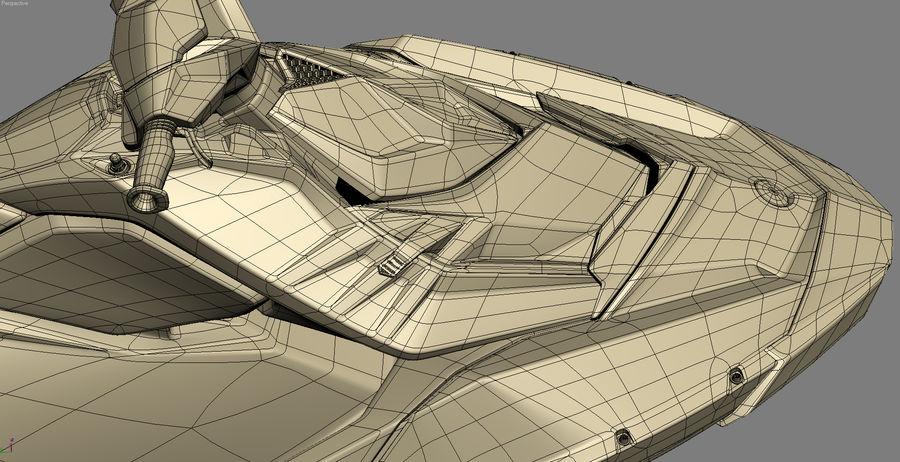 SEA-DOO Spark royalty-free 3d model - Preview no. 22