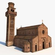 Basílica de Santa Felice e Fortunato 3d model