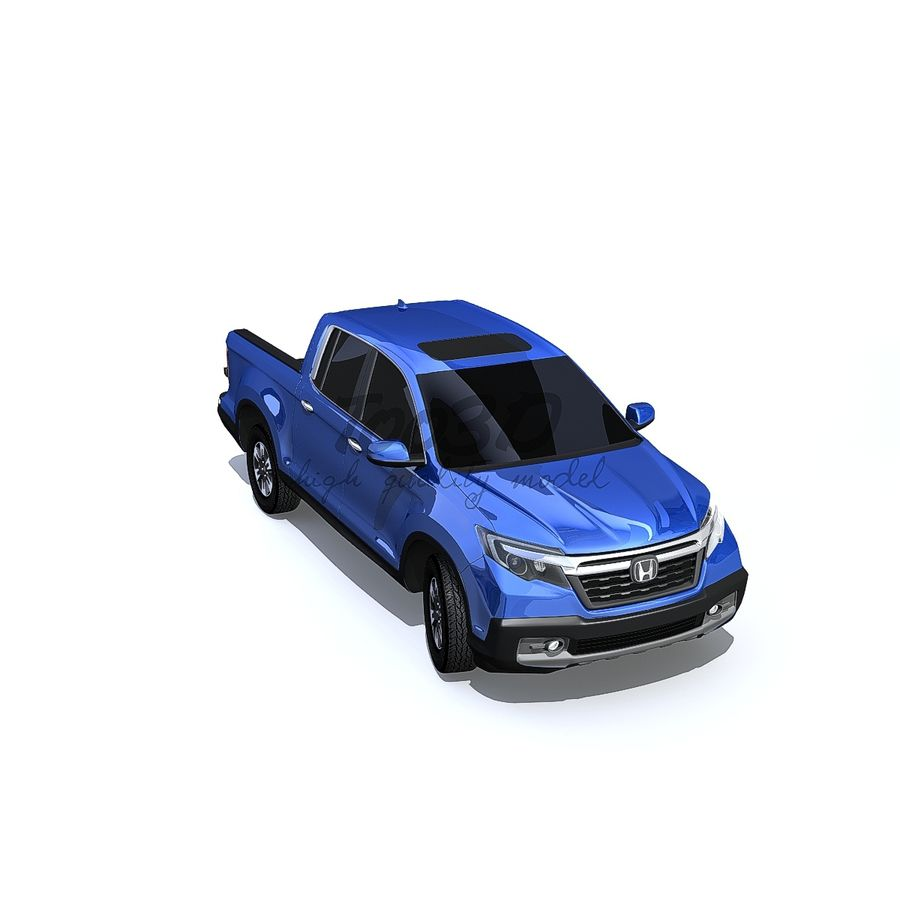 RidgeLine royalty-free 3d model - Preview no. 7