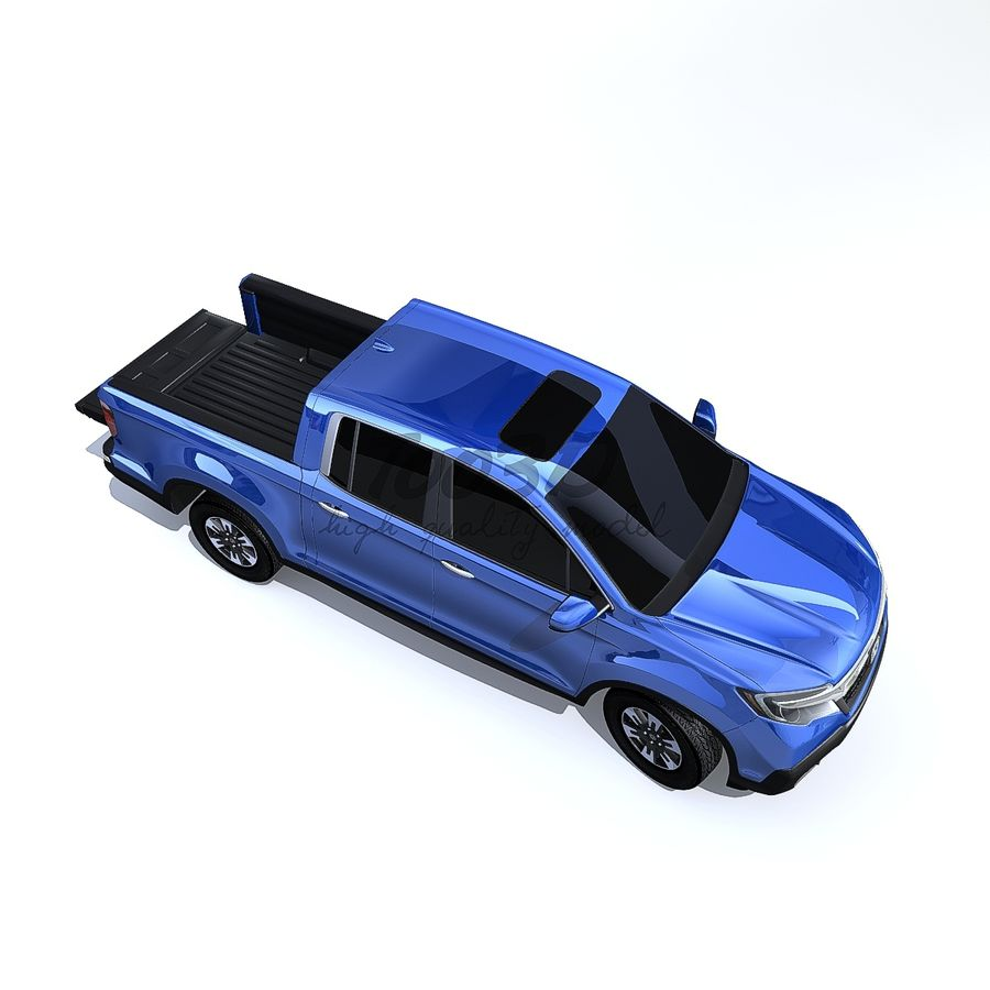 RidgeLine royalty-free 3d model - Preview no. 1