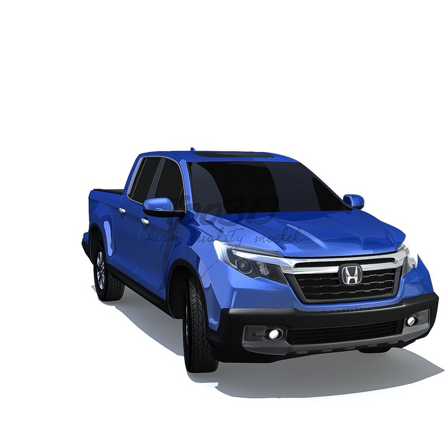 RidgeLine royalty-free 3d model - Preview no. 2