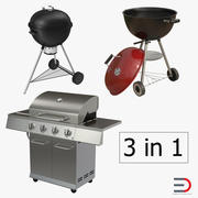 Grills Collection 3d model