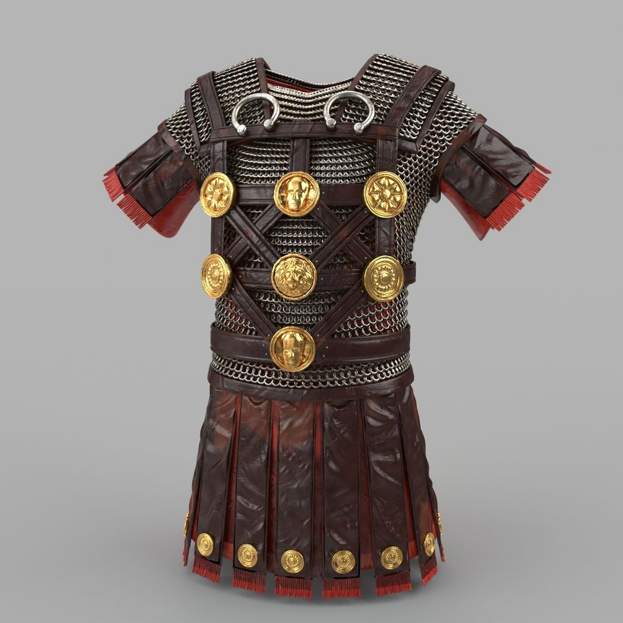 Body Armors royalty-free 3d model - Preview no. 43