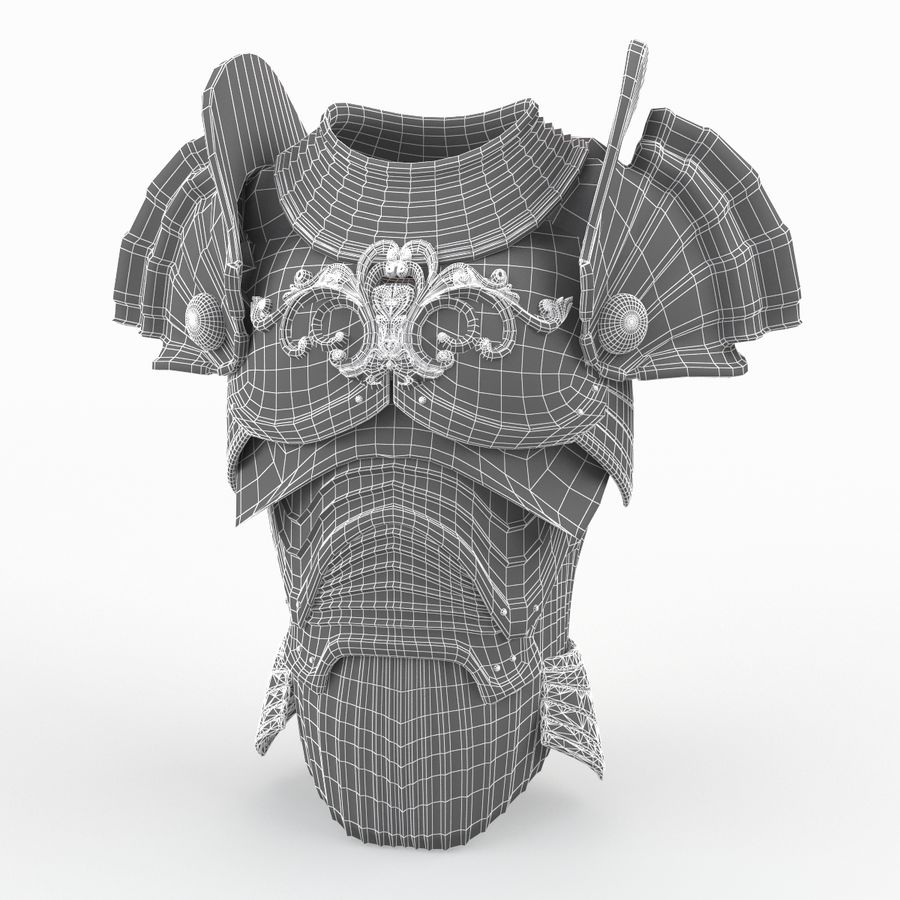 Body Armors royalty-free 3d model - Preview no. 35