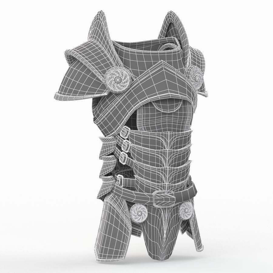 Body Armors royalty-free 3d model - Preview no. 27