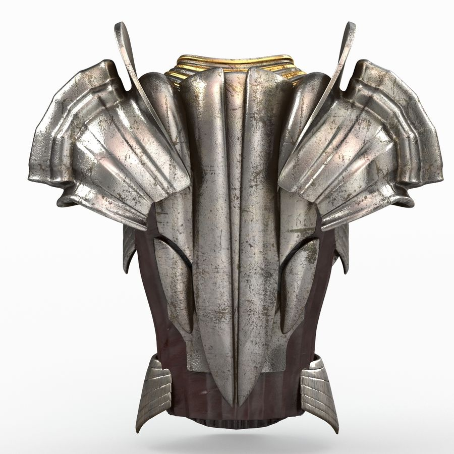 Body Armors royalty-free 3d model - Preview no. 30