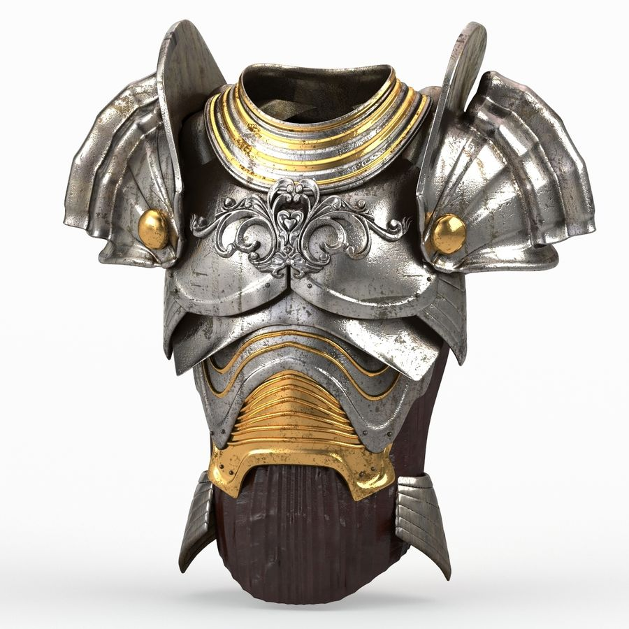 Body Armors royalty-free 3d model - Preview no. 33