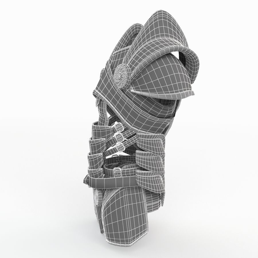Body Armors royalty-free 3d model - Preview no. 22
