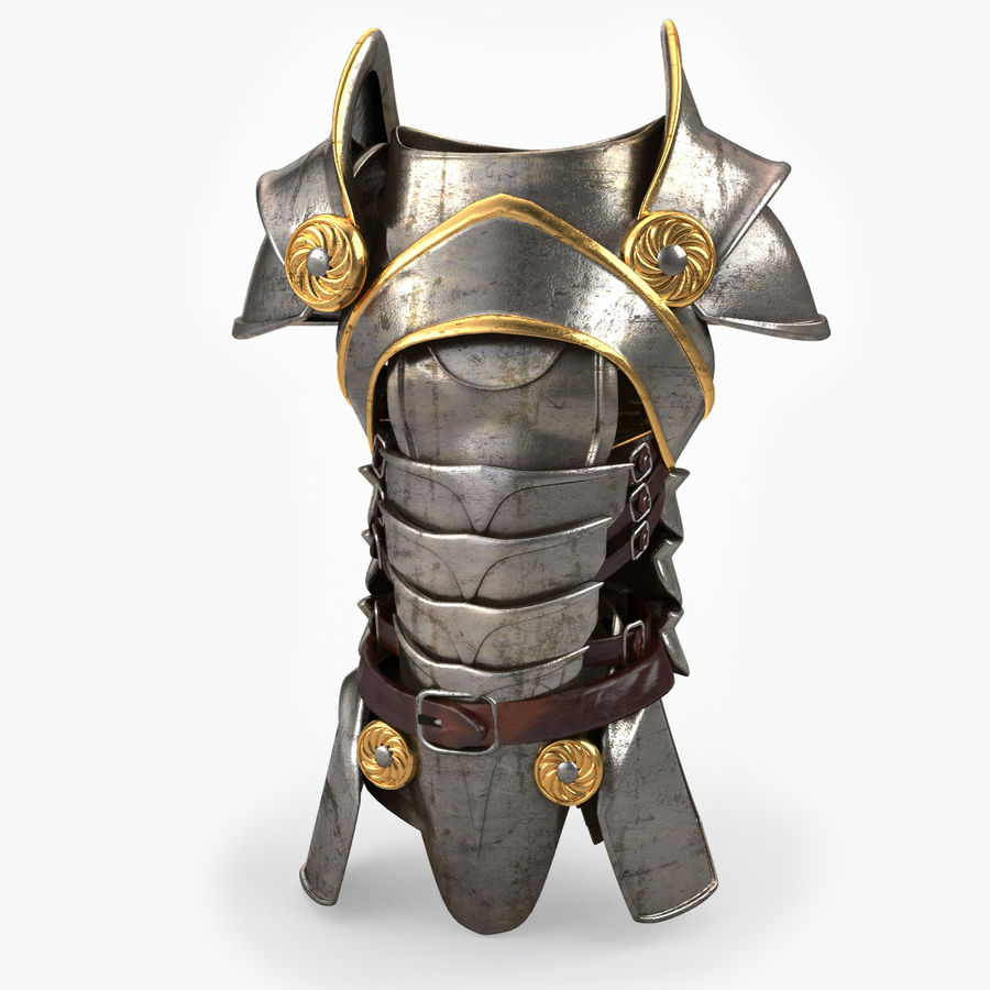 Body Armors royalty-free 3d model - Preview no. 14