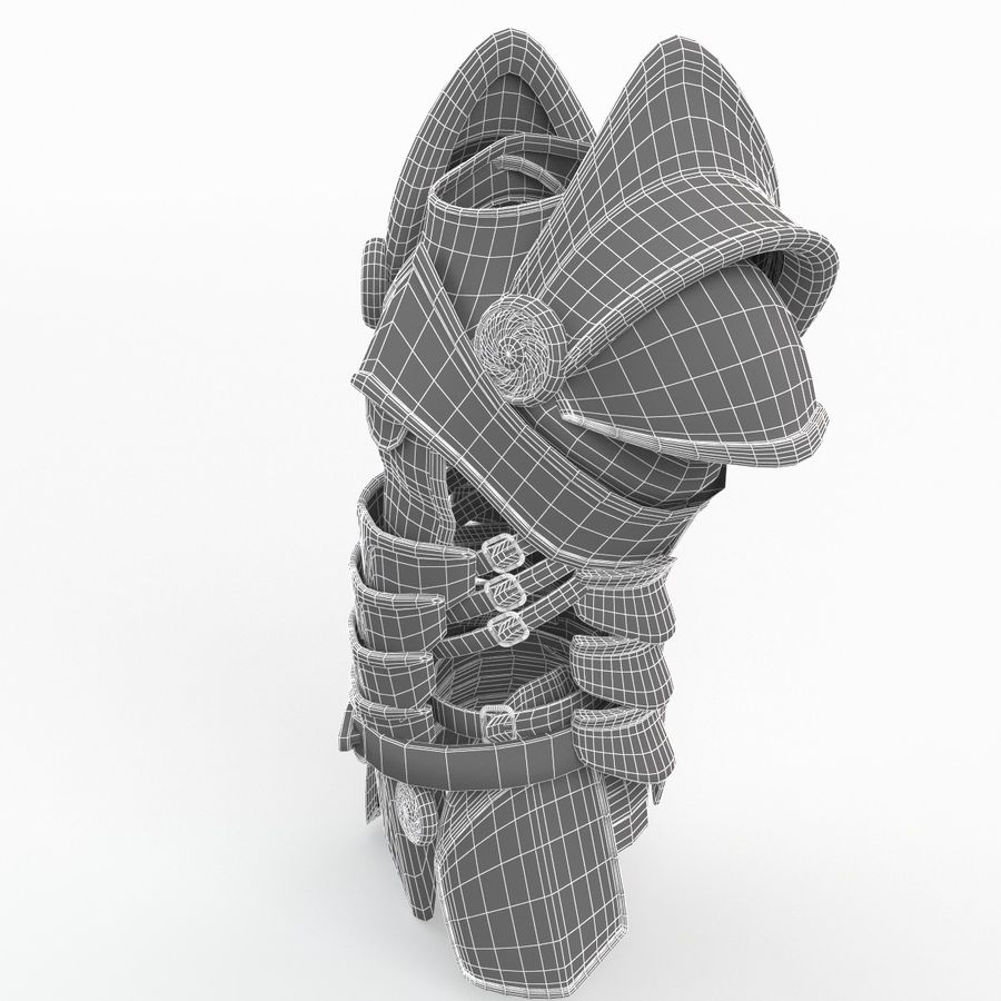 Body Armors royalty-free 3d model - Preview no. 24