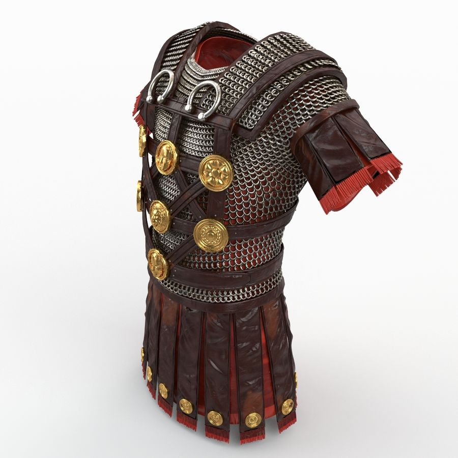 Body Armors royalty-free 3d model - Preview no. 46