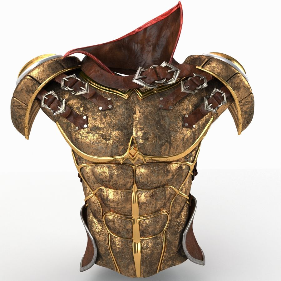 Body Armors royalty-free 3d model - Preview no. 5