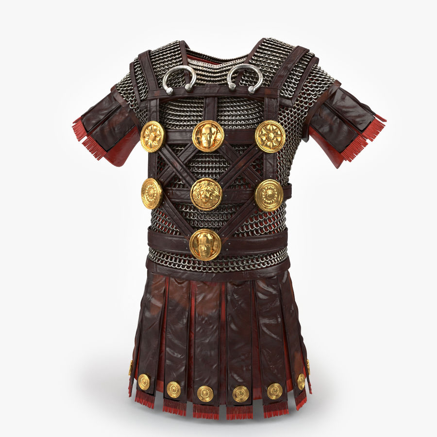 Body Armors royalty-free 3d model - Preview no. 42
