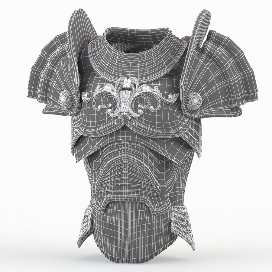 Body Armors royalty-free 3d model - Preview no. 40