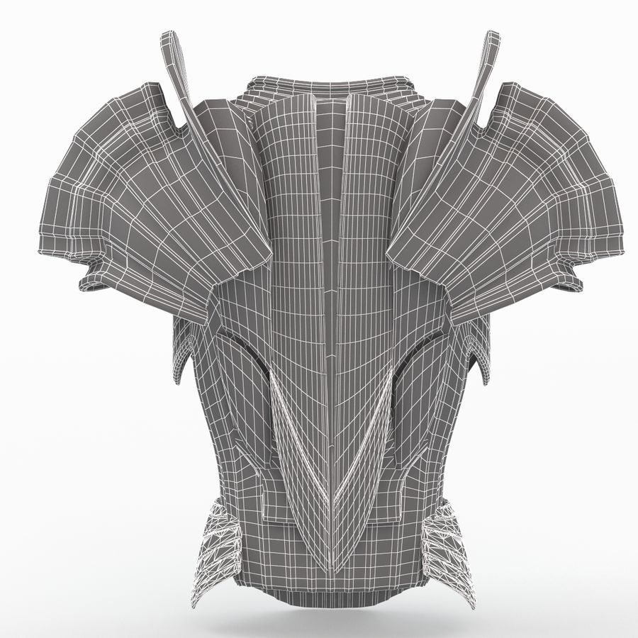 Body Armors royalty-free 3d model - Preview no. 37