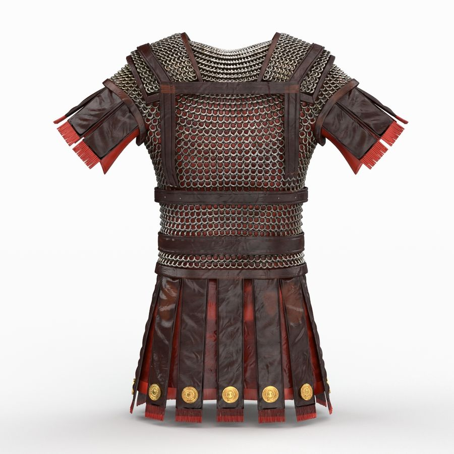 Body Armors royalty-free 3d model - Preview no. 45
