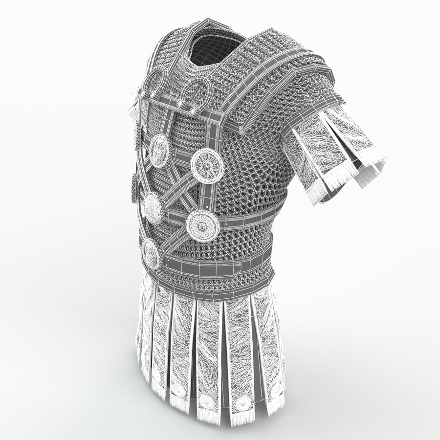 Body Armors royalty-free 3d model - Preview no. 53