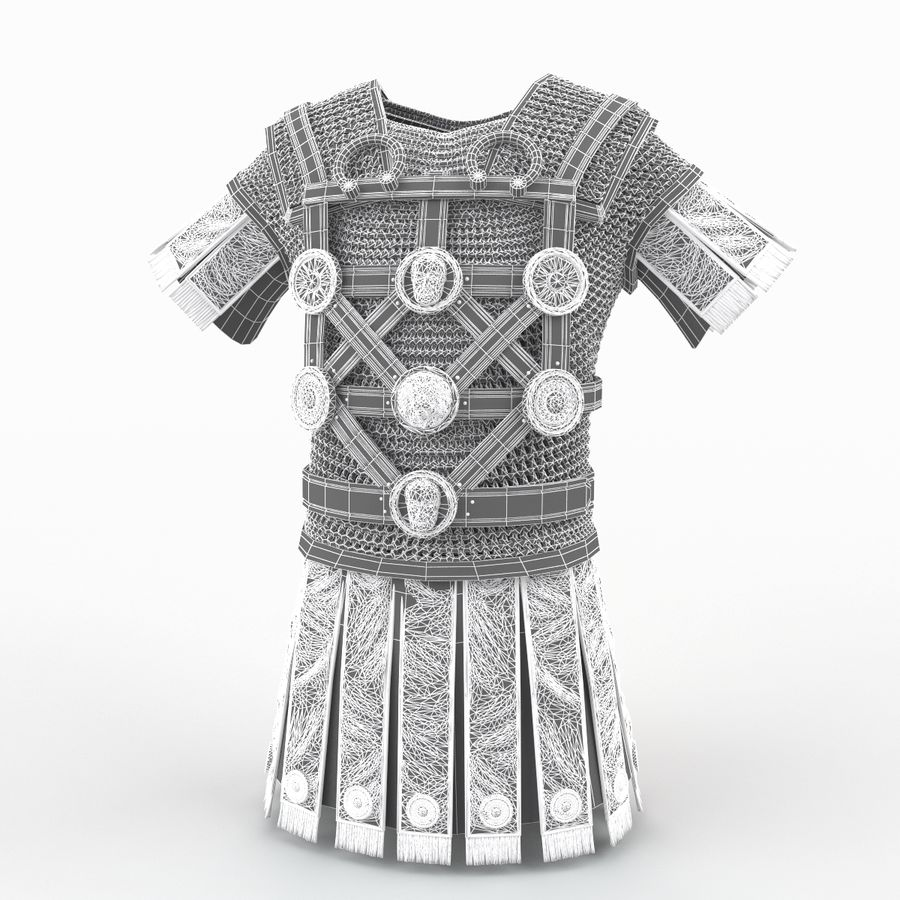 Body Armors royalty-free 3d model - Preview no. 50