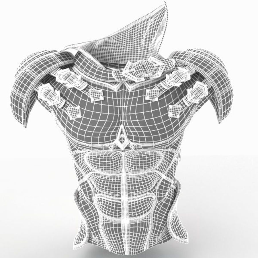 Body Armors royalty-free 3d model - Preview no. 12