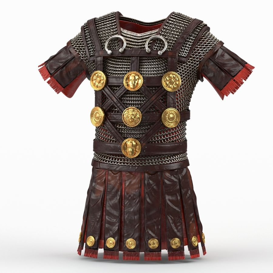 Body Armors royalty-free 3d model - Preview no. 48