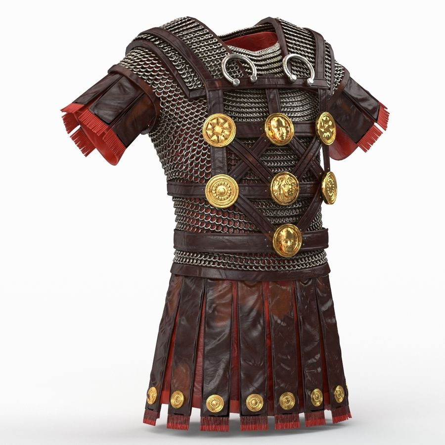 Body Armors royalty-free 3d model - Preview no. 49