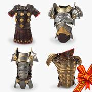 Body Armors 3d model