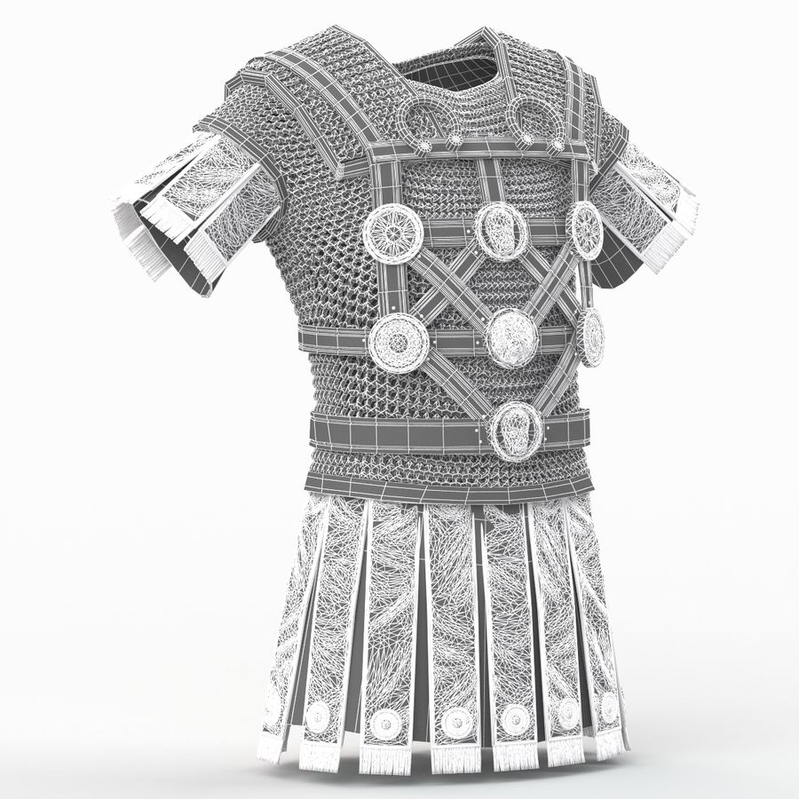 Body Armors royalty-free 3d model - Preview no. 56
