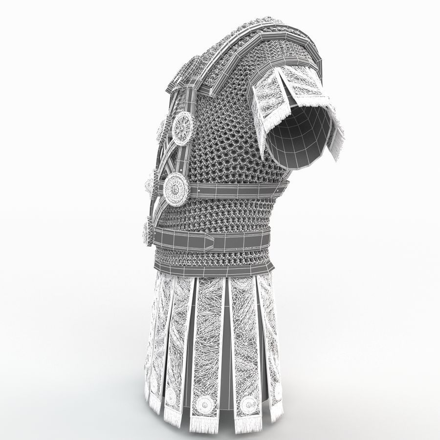 Body Armors royalty-free 3d model - Preview no. 51