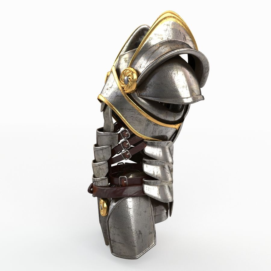 Body Armors royalty-free 3d model - Preview no. 15
