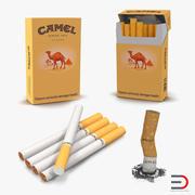 Collezione di sigarette Camel 3d model