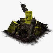 最後のバレル-放射性廃棄物 3d model