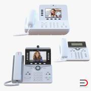 Cisco IP Phones 3D 모델 모음 3d model