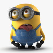 Short Two Eyed Minion Pose 2 3d model