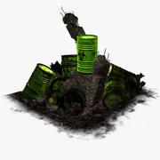 最後のバレル-有毒廃棄物 3d model