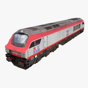 TCDD DE 36000(GE PH37ACi) 3d model
