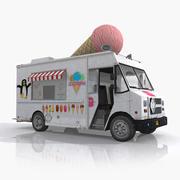 아이스크림 트럭 3d model