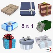 Geschenkboxen Sammlung 2 3d model