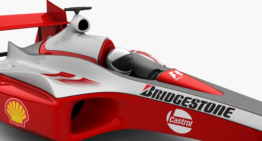 Formel 1 bil royalty-free 3d model - Preview no. 11