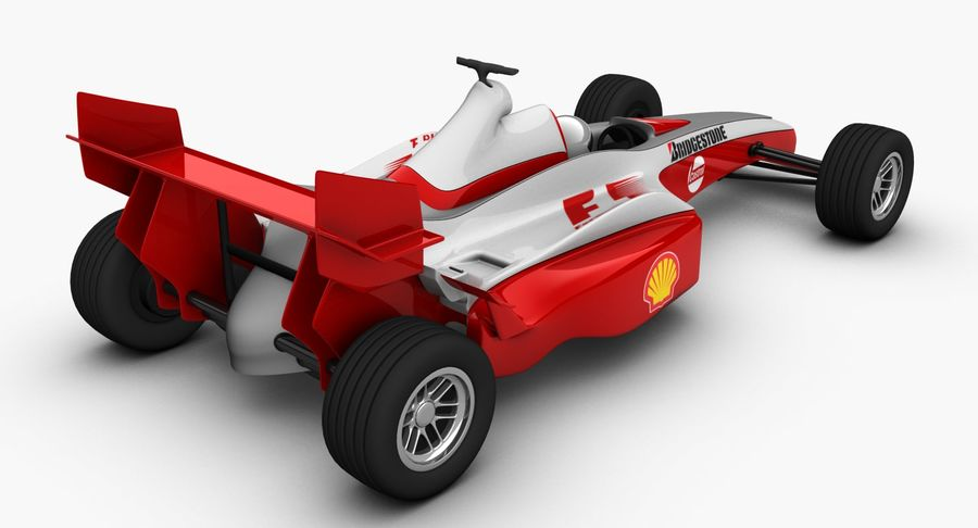 Formel 1 bil royalty-free 3d model - Preview no. 5